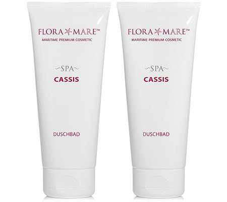FLORA MARE Spa Cassis Duschbad 2x 200ml