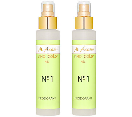 M.ASAM VINO GOLD Deo Spray 2x100ml