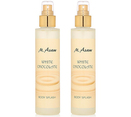 M.ASAM White Chocolate Body Splash 2x 150ml