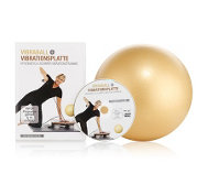 FLEXI-SPORTS Vibraball Ø 27cm inkl. 45min Workout-DVD
