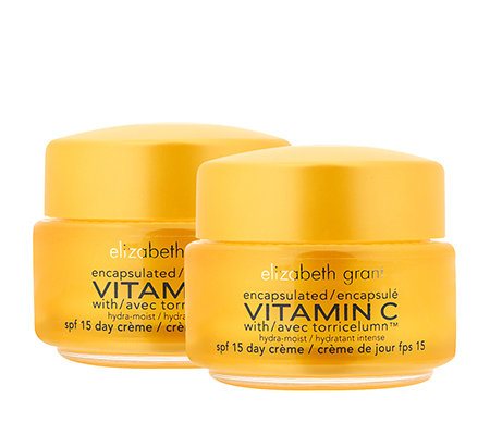 ELIZABETH GRANT VITAMIN C Day Cream mit LSF 15 2x 50ml