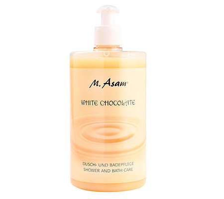 M.ASAM White Chocolate Dusch-& Badecreme 750ml