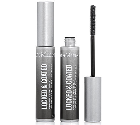 bareMinerals Locked & Coated, wasserfester Mascara Topcoat 2-tlg