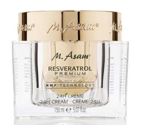 M.ASAM® RESVERATROL PREMIUM 24h Creme 150ml Sonderedition