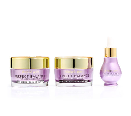 ELIZABETH GRANT PERFECT BALANCE Aroma Oil, Day Cream & Night Cream 3-tlg.
