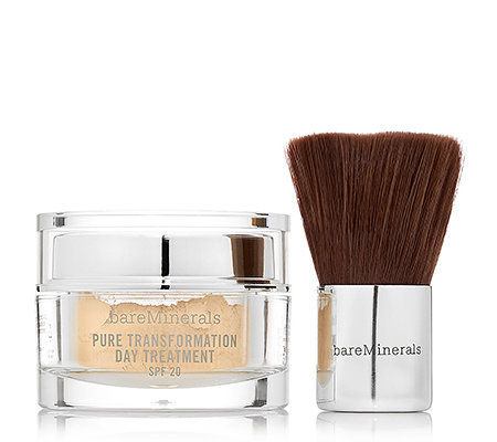 bareMinerals Pure Transformation Day Treatment LSF 20 mit Pinsel