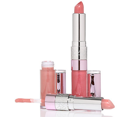 DOLL NO.10 Lip Naked Wardrobe Duo aus Lippenstift & Lipgloss