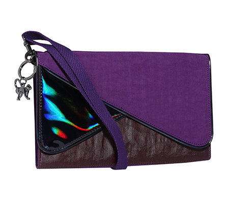KIPLING 2in1 Starlight Twist Clutch/ Umhängetasche