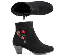 VITAFORM Stiefelette Stickerei - 317125