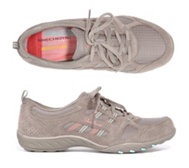 SKECHERS Damensneaker Breathe Easy Materialmix Memory Foam