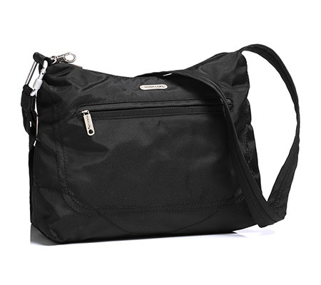 TRAVELON Anti-Theft Schultertasche Polyester Riemen verstellbar