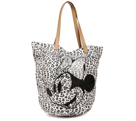 DISNEY Minnie Maus Shopper Baumwolle Leodruck