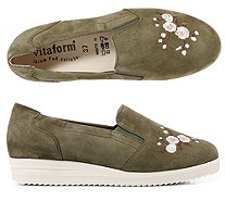 VITAFORM Slipper Samtziege - 317362