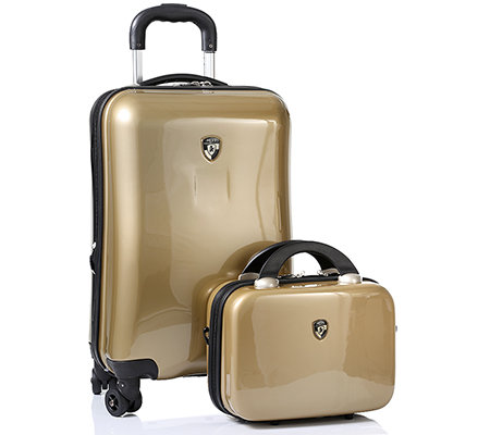 HEYS USA Exotic Spinner Col Trolley & Beautycase ABS 2-tlg.