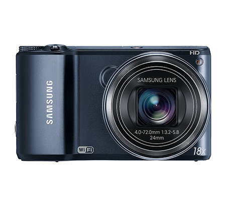 SAMSUNG 14MP Digitalkamera 18xopt/5xdig.Zoom 24mm Weitwinkel WiFi, 2x2GB Karte
