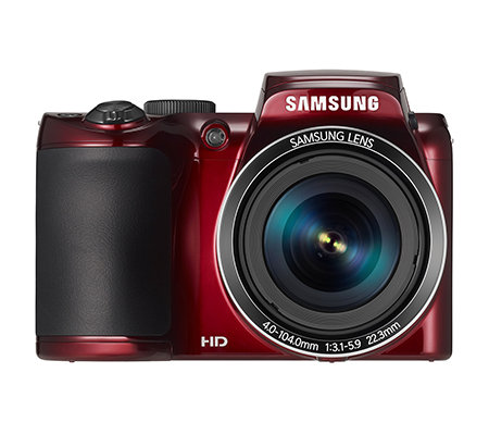 SAMSUNG 20,2 MP Bridge Kamera 26xopt./5xdig.Zoom 22,3mm Weitwinkel 8GB SD Karte