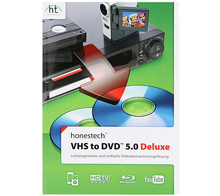 HONESTECH VHS zu DVD 5.0 archiviert Videos auf CD/DVD Blu-ray-Disc