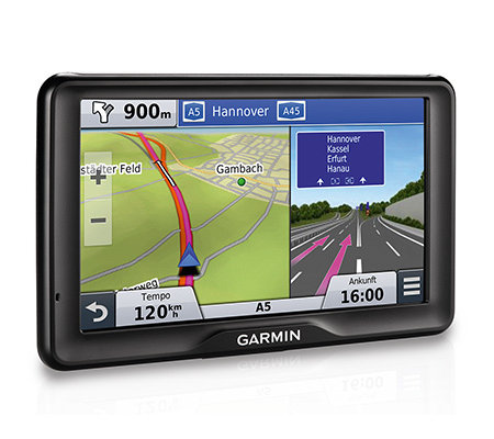 GARMIN Navigationssystem 17,8cm Display kostenl.Kartenupdates 3D Traffic, Netzteil