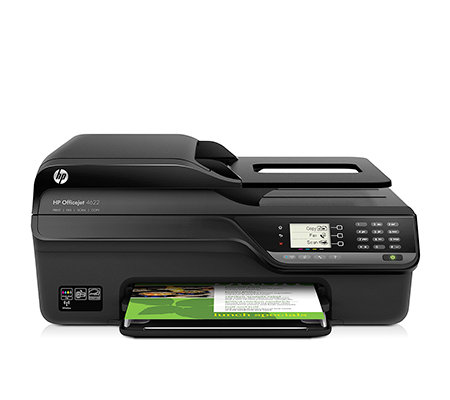 HP All-in-One Drucker drucken, kopieren scannen & faxen inkl. 4 Tintenpatrone
