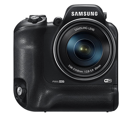 SAMSUNG 16MP Digitalkamera 60xopt. Zoom, WLAN Full HD Video, NFC inkl. 16GB Karte