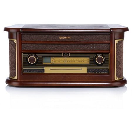 ROADSTAR Retro HiFi-Anlage Radio, Kassette, CD Schallplatte, USB, Bluetooth, 100W