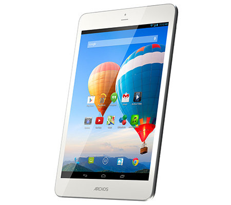 ARCHOS 20,1cm Tablet PC HD IPS-Display, 8GB Quad-Core, WiFi, 3G Aluminiumgehäuse