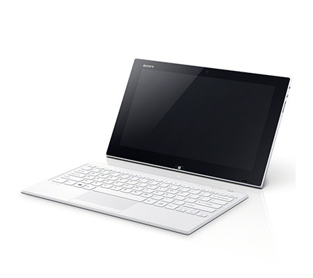 SONY 29,4cm Tablet PC mit kabelloser Tastatur 128GB SSD, 4GB RAM Windows 8, USB 3.0
