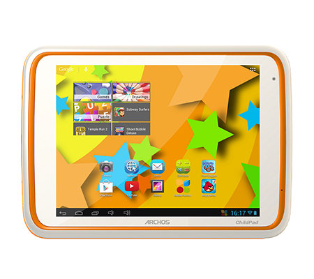 ARCHOS 20,3cm Tablet PC Android 4.1, mit Kidz Zone App & Elternkontrolle