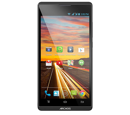 ARCHOS 12,7cm Smartphone HD Display, Quad Core 32GB Karte, 2 Cover 3J. Garantie