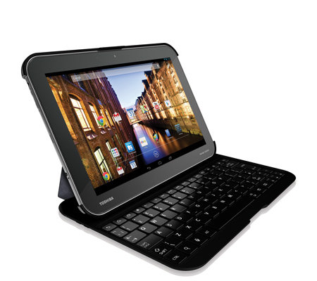 TOSHIBA 25,7cm Tablet PC Full HD-Display, 16GB Quad-Core, 2GB RAM Bluetooth Tastatur