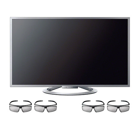 SONY 3D Smart LED-TV 400Hz, Dreifach-Tuner NFC, 4x 3D Brillen 3 Jahre Garantie