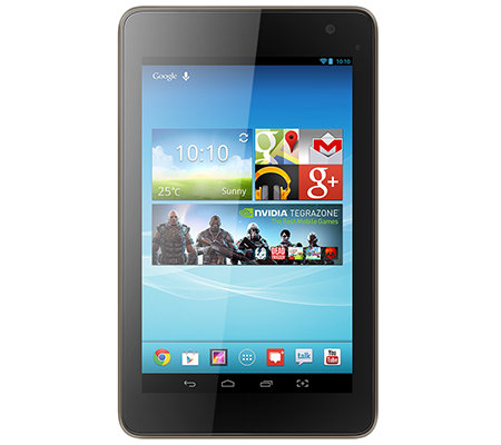 HISENSE Tablet PC 17,8cm IPS-Display Quad-Core, 8GB Anleitungs DVD