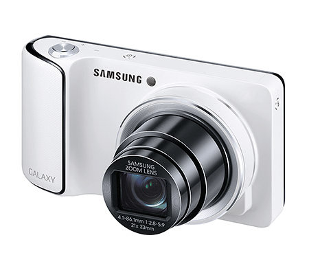 SAMSUNG Galaxy 16,3MP Kamera 12,1cm Touch-Display 21x opt. Zoom, WLAN 23mm Weitwinkel