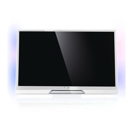 PHILIPS 3D Design LED-TV Ambilight, 600Hz HD Dreifach Tuner Smart TV, 3D Brillen