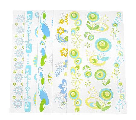 tine wittler kreative wandgestaltung mit floralen motiven 5 bogen page 1. Black Bedroom Furniture Sets. Home Design Ideas