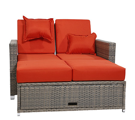 GREEMOTION Multifunktionssofa Sofa, Lounge & Doppelliege grau/bicolor