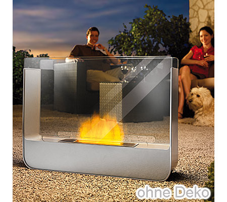 kamin maxx dekofeuer f r innen au en mit sicherheitsglas 2l bio ethanol page. Black Bedroom Furniture Sets. Home Design Ideas