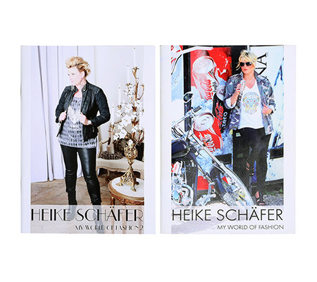 HEIKE SCHÄFER Ergänzungs-Set Bücher-Set My World of Fashion 1&2