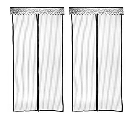 fliegenvorhang magnetverschluss mit klettband f r einfache. Black Bedroom Furniture Sets. Home Design Ideas