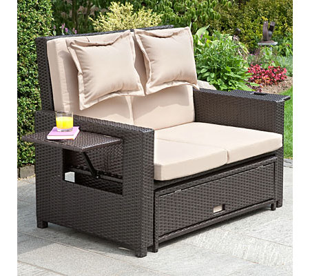 doppelliege garten good doppelliege garten with. Black Bedroom Furniture Sets. Home Design Ideas
