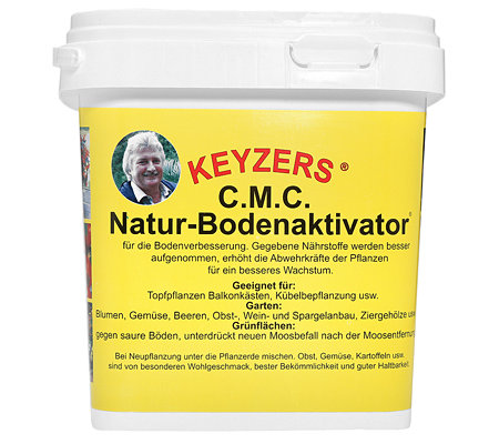 keyzers natur bodenaktivator f r alle pflanzen 3000g. Black Bedroom Furniture Sets. Home Design Ideas