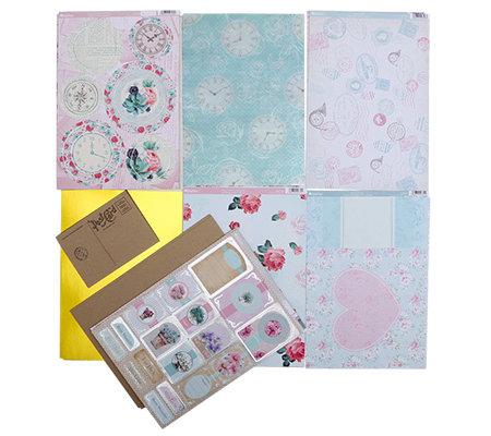 kanban belle de fleur postkarten ausstanzungen karten. Black Bedroom Furniture Sets. Home Design Ideas