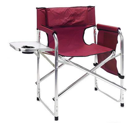 campingstuhl inkl tisch organizer zusammenklappbar gepolsterte lehne page 1. Black Bedroom Furniture Sets. Home Design Ideas