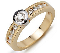 Ring 9 Brillanten - 611600