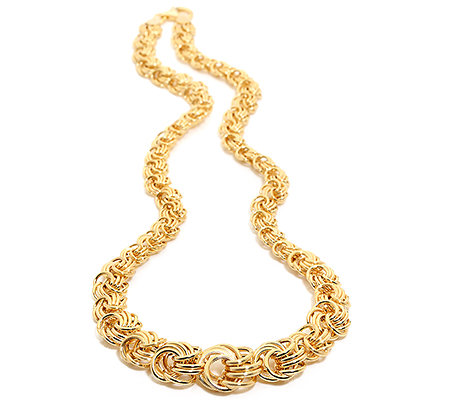 VICENZA STYLE Collier Länge ca.46cm poliert Gold 375