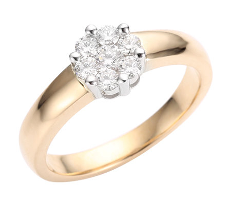 Ring gold 585 mit brillanten