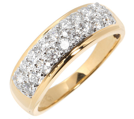 CANADIAN DIAMONDS 28 Brillanten zus. ca. 0,75ct Ring Gold 750
