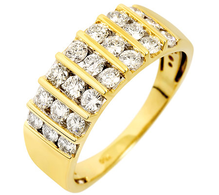 CANADIAN DIAMONDS 21 Brillanten zus.ca.1,00ct Ring Gold 750