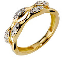 Ring 15 Brillanten zus. ca. 0,25ct hfW/Lupenrein Gold 750 - 612429