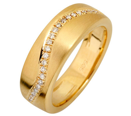 CARA D'OR 24 Brillanten zus.ca.0,15ct. Weiß/SI Ring, Gold 585
